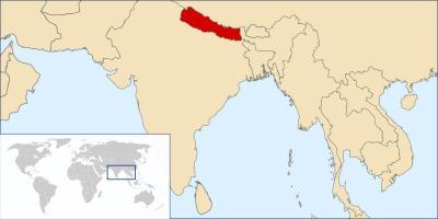 Cartina Mondo Nepal.Mappa Dettagliata Del Nepal La Mappa Online Del Nepal Sud Est Asiatico Asia